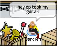 guitar taken