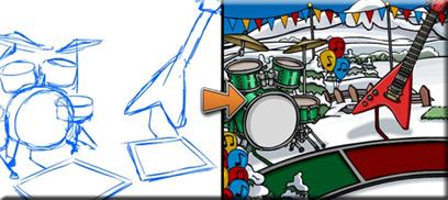 music jam design